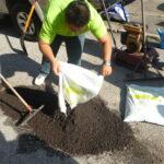 Malaysia - MPK Demo in Klang (Pothole Repair)