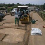 Steel Bridge Road Repair