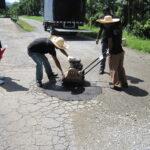 Chicken Farm Malaysia Road (Pothole Patch Repair)